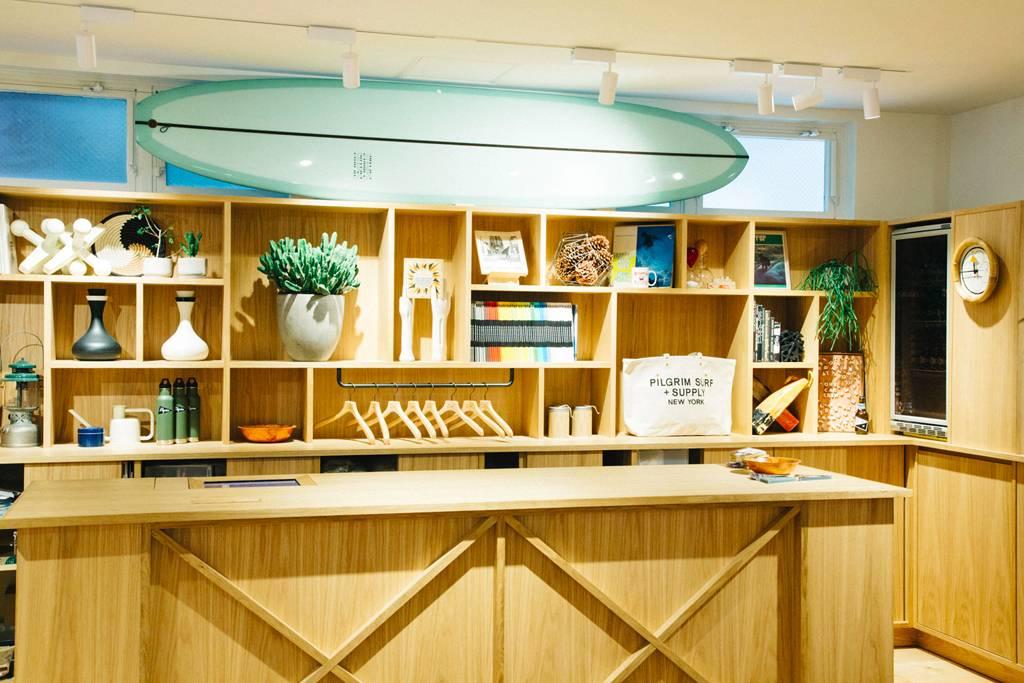 就连日本也只此一家,务必探访的Pilgrim Surf + Supply东京旗舰店