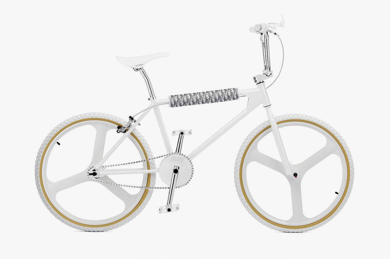 """美到极致的贵族单车,Dior x Bogarde BMX """"White"""" 即将上市"""