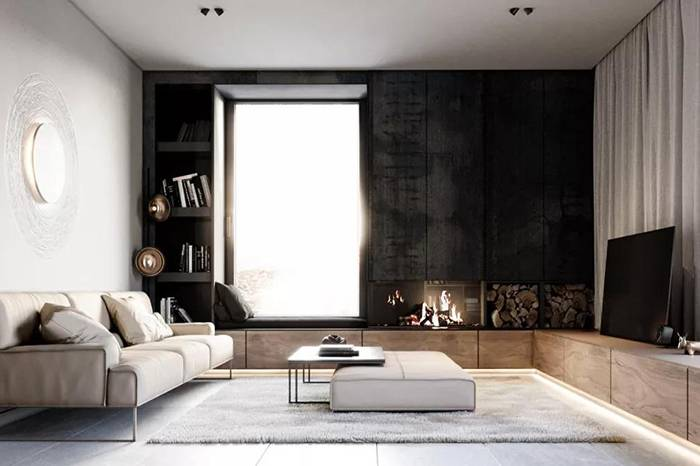 一栋带着古典气息的家庭住宅,三层阁楼演绎不同的优雅设计
