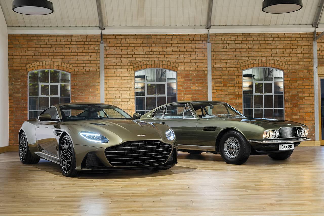 为邦德的出奇制胜立下赫赫战功,阿斯顿·马丁推出2019款DBS Superleggera
