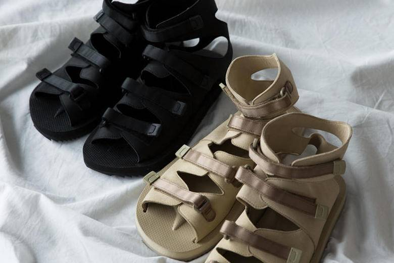 武装到脚踝,SUICOKE x Pilgrim Surf+Supply推出Ankle Sandals