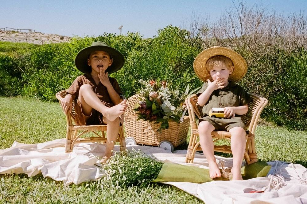 Childish Love:打造小朋友的野餐造型 这个童装品牌了解一下