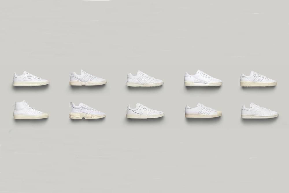 白鞋爱好者的狂欢,adidas推出十双不同款式的经典白球鞋