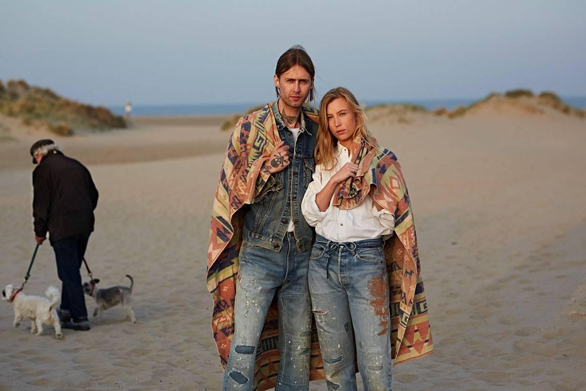 70s复古游牧风格,Levi's Vintage Clothing推出超稀罕合作款单宁