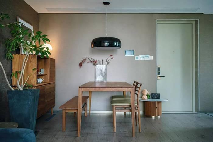 理想中的家干净素雅并能与家人松弛的共处一室