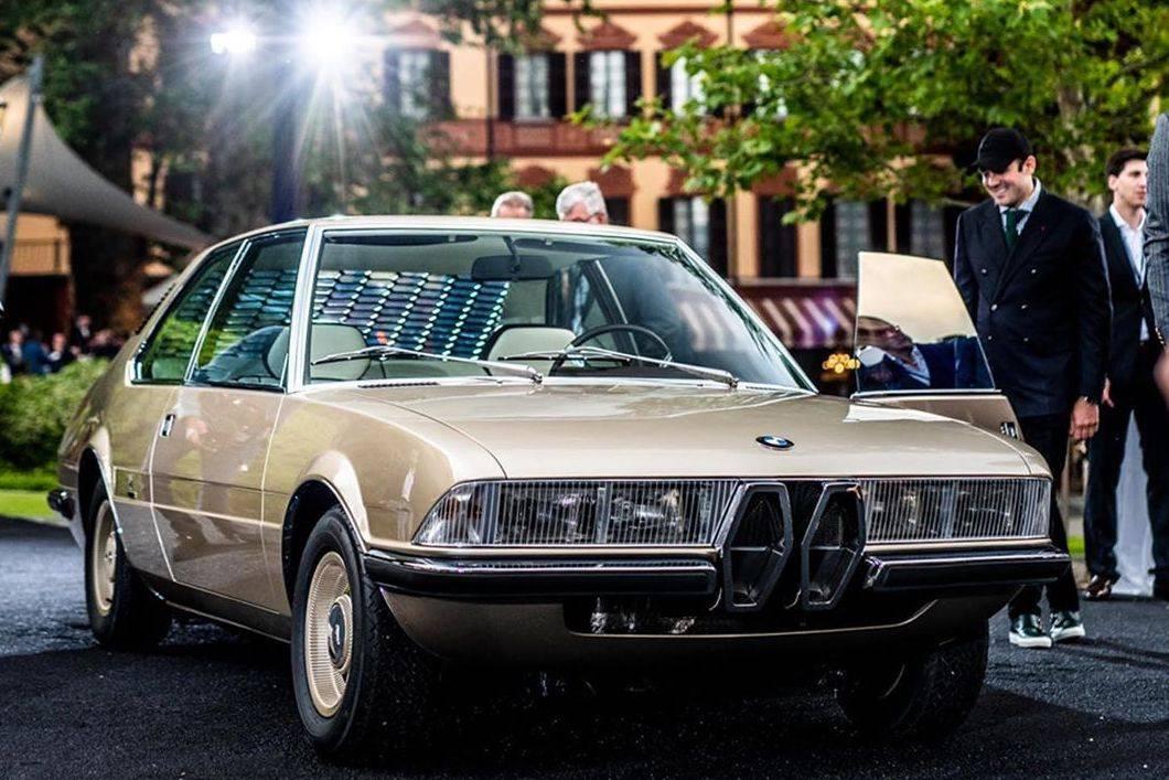 BMW亮相一款已消失49年的古董车型:Garmisch