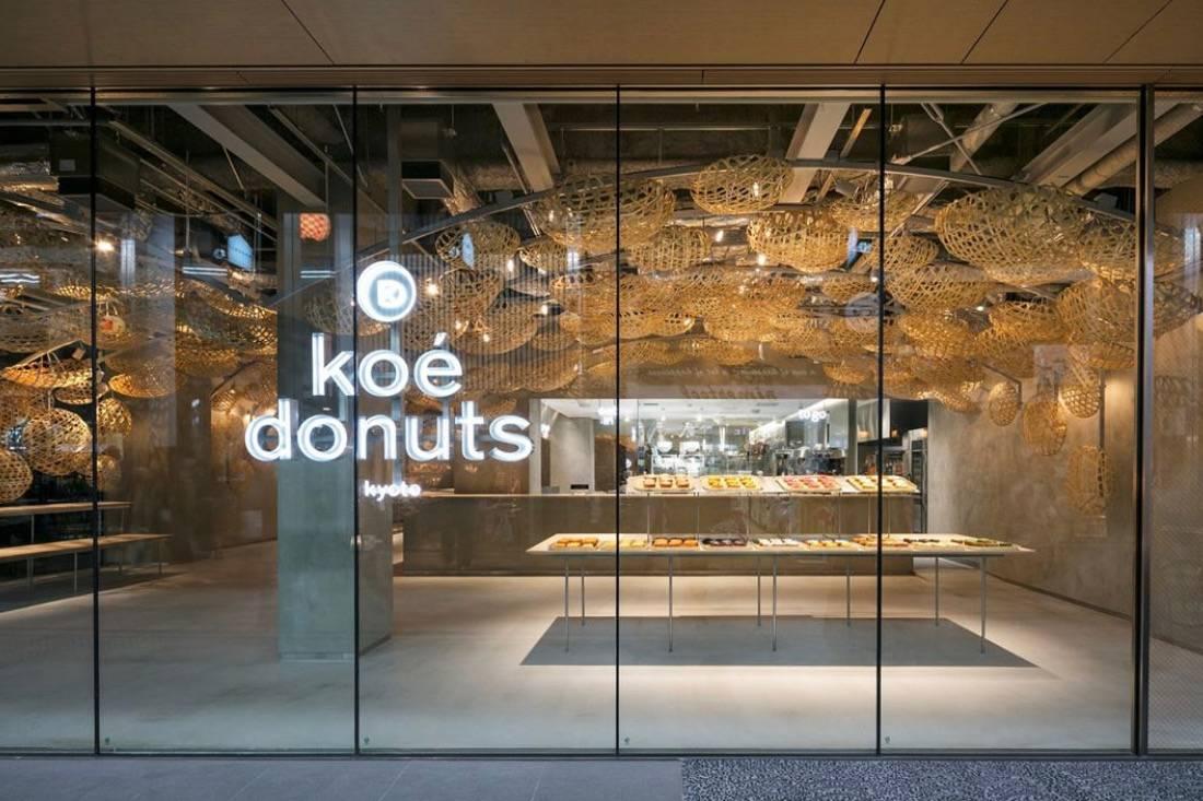 隈研吾设计的京都高颜值甜甜圈店,无论食物还是内饰都值得细细品味