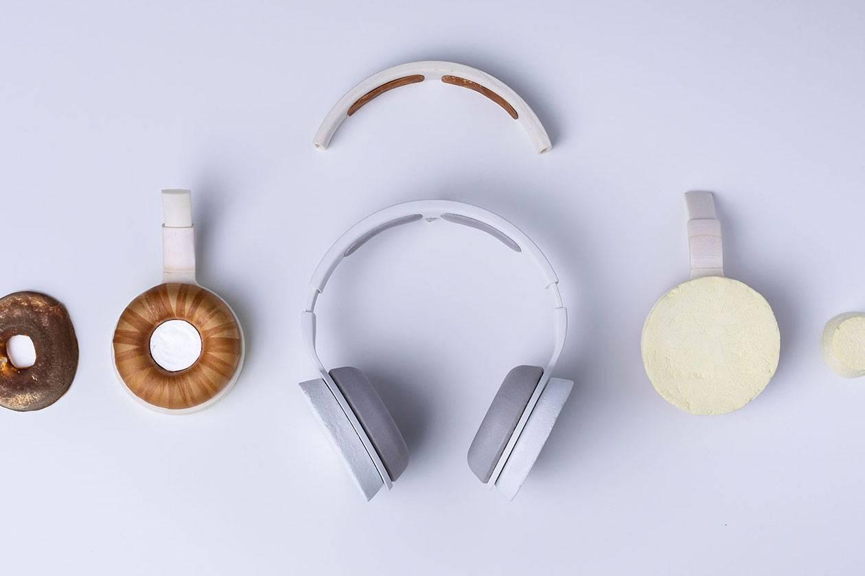 将环保做到极致,世界上第一款微生物耳机Korvaa