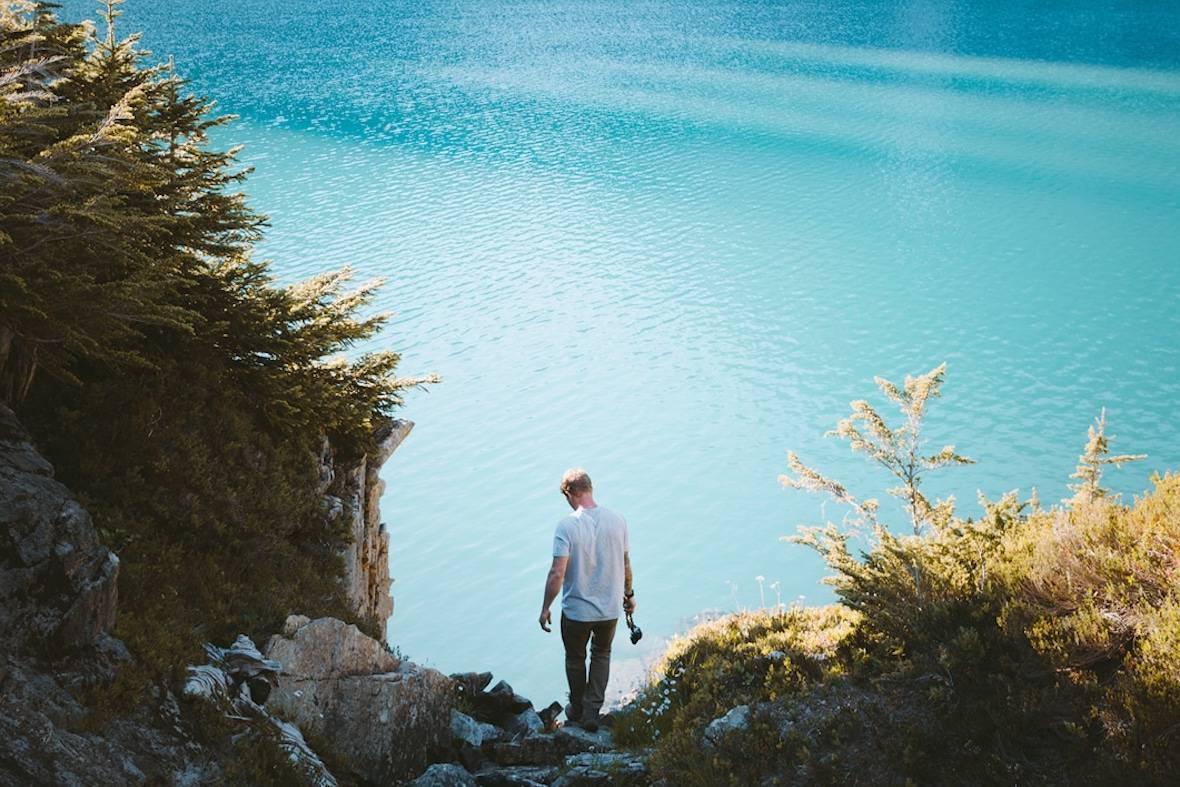 这位游牧摄影师用非常规构图,记录Diablo Lake令人叹为观止的美