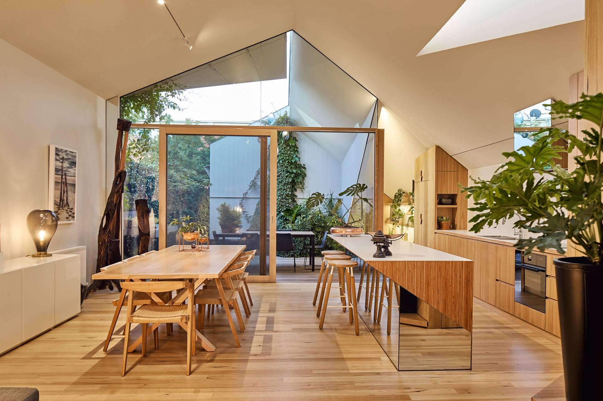 原木+几何元素,让家更有设计感