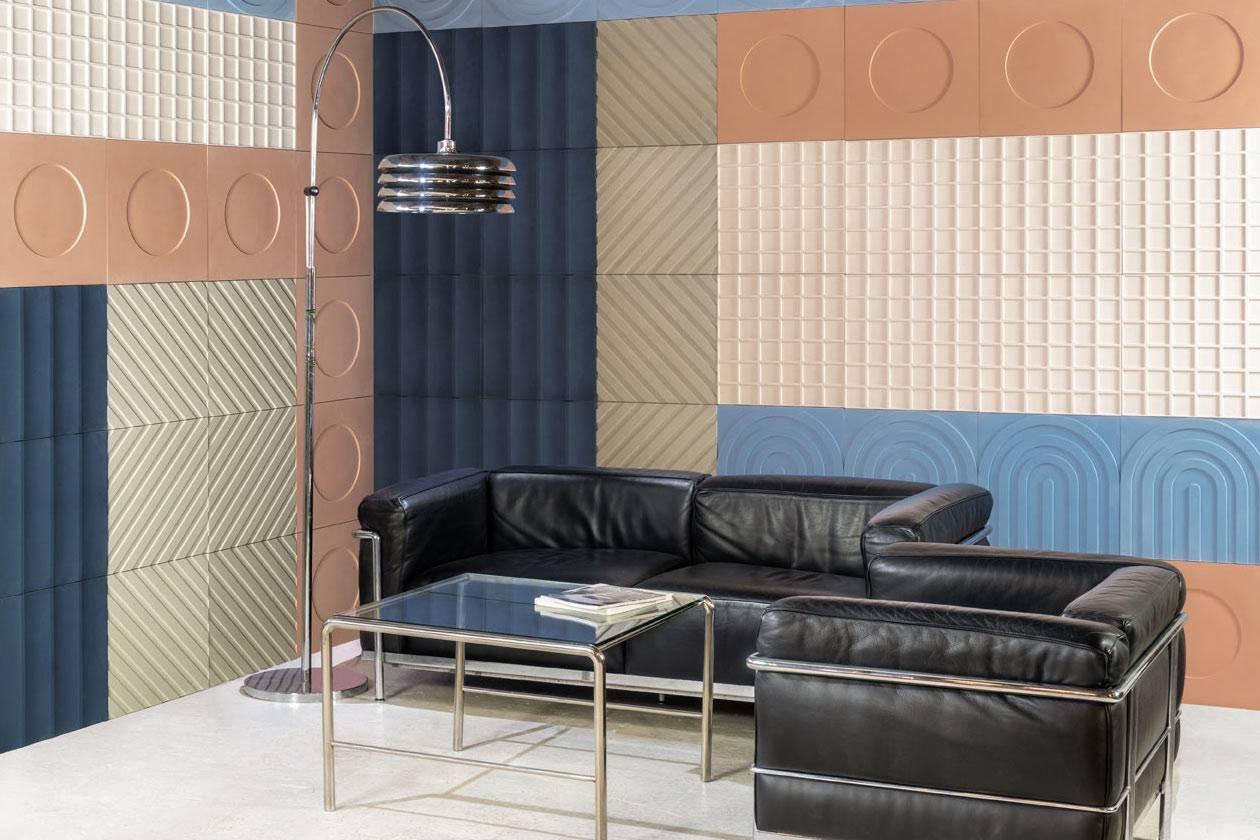 KAZA Concrete带来包豪斯风格全新作品,是领略瓷砖之美的不二之选