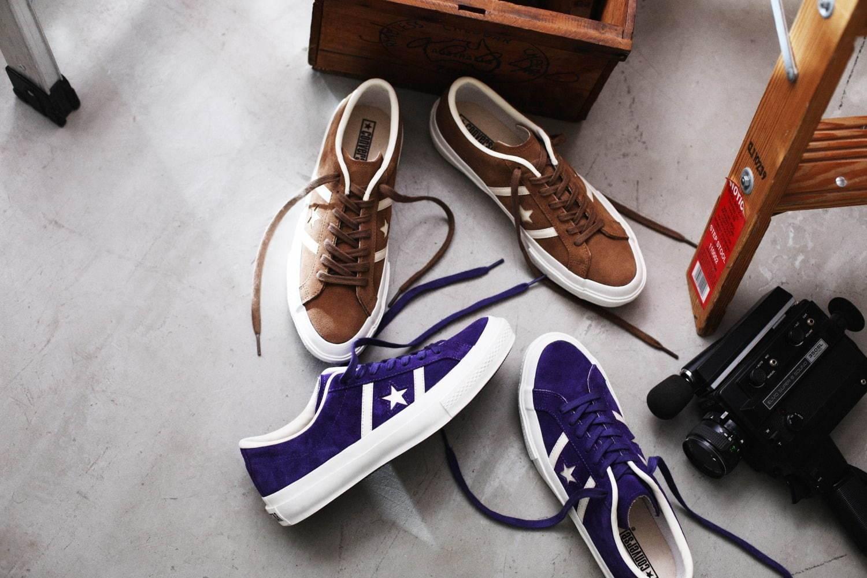 CONVERSE旗下夺人眼球的时髦球鞋,别忘了Star&Bars