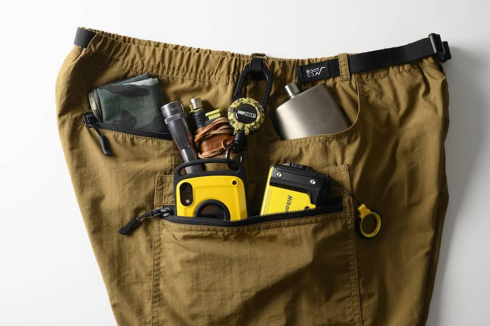 夏季出游的完美选择:穿上这条裤子,出门无需带包