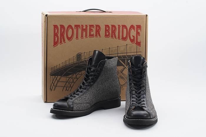 "H&K联合日本品牌推出""胡椒盐""皮靴,讲述用心原创背后的故事"