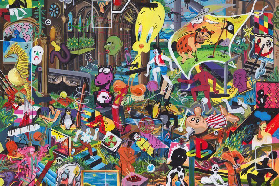 将流行元素融入作品的波普艺术家?不止是村上隆在干这件事。
