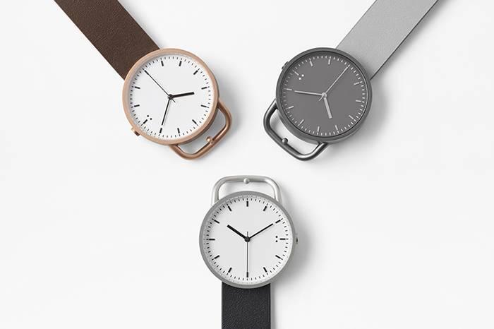 日本超火的空间设计师佐藤大,推出三款亲民的简约风格手表