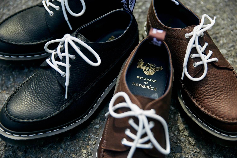 nanamica x Dr.Martens:一双有着大海般自由气质的英产皮鞋