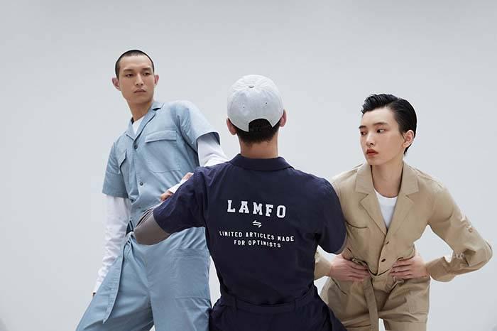 将工业设计注入时装,LAMFO新发首个系列服饰传递简约美学