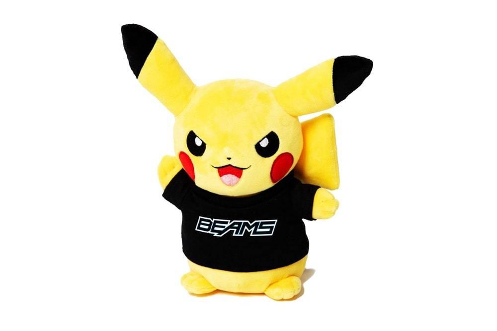 每个男孩心里永不褪色的梦,BEAMS推出Pokémon合作系列