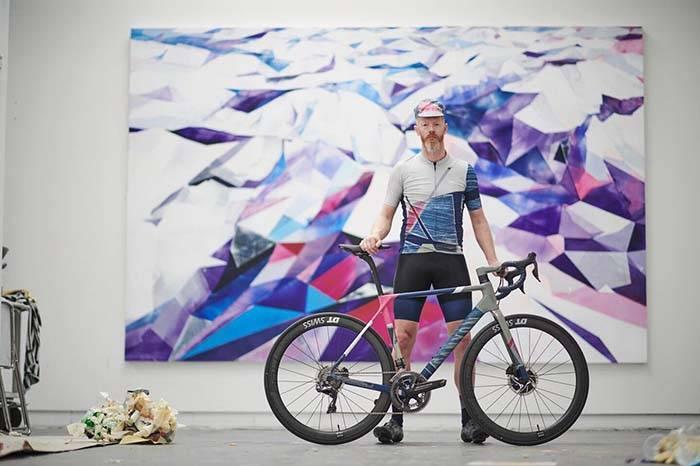 将艺术融入骑行,Rapha与柏林艺术家演绎最帅骑行LOOK