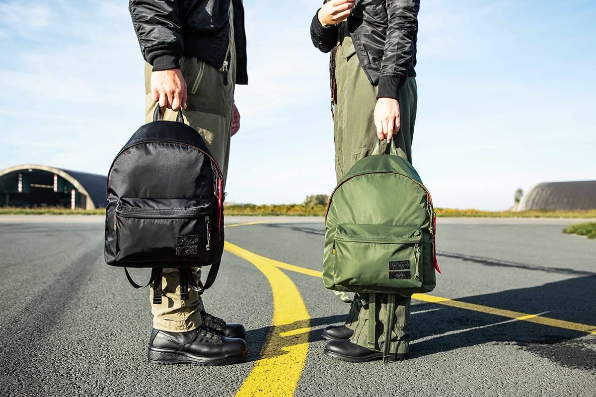 当经典MA-1飞行夹克变身包袋,Alpha Industries x Eastpak全新联名系列