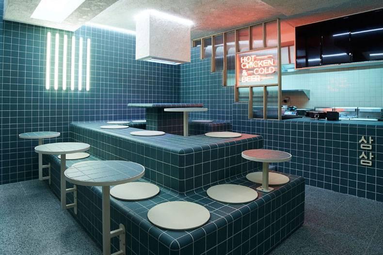 墨尔本新开一家复古又前卫的韩式餐馆,在这里吃炸鸡+啤酒简直酷毙