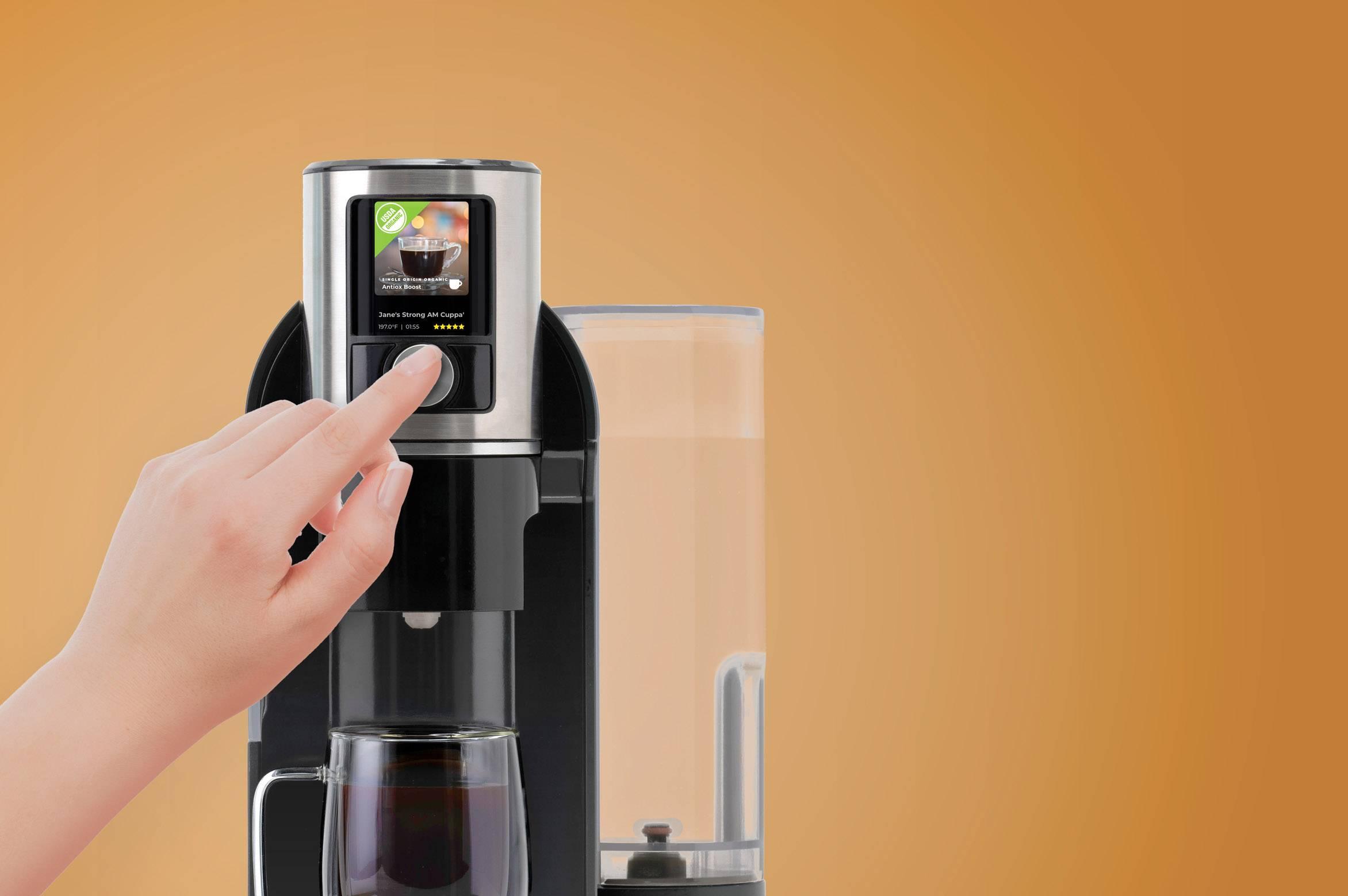 PicoBrew推出世界首款多功能台面饮料机,能制作咖啡、啤酒等多种饮品