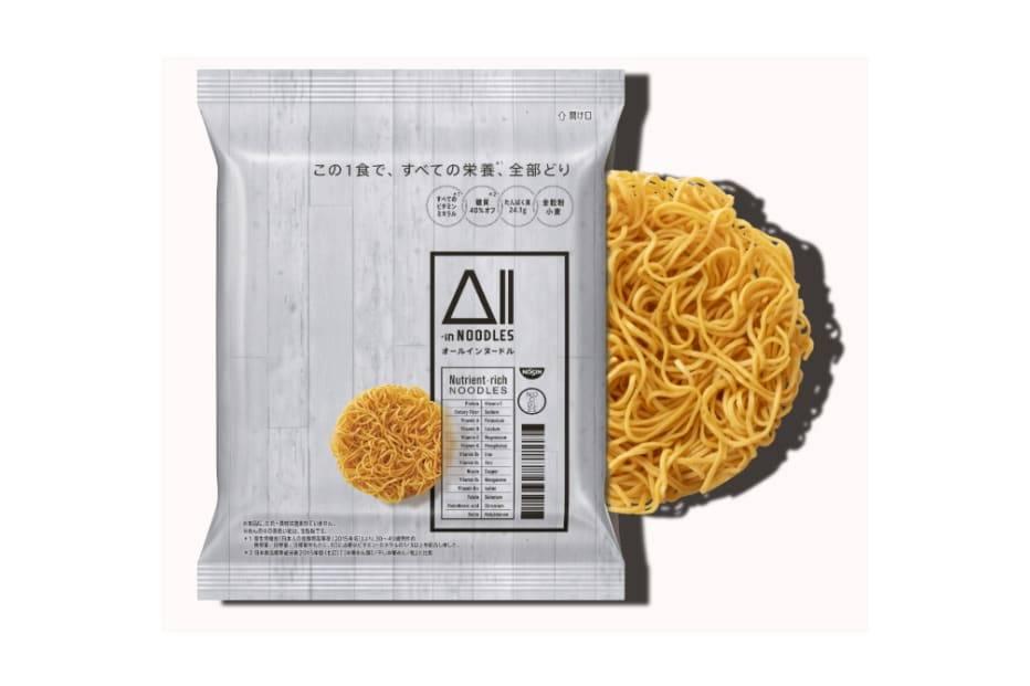 坐拥丰富营养的全能泡面,日清推出全新All-in Noodles