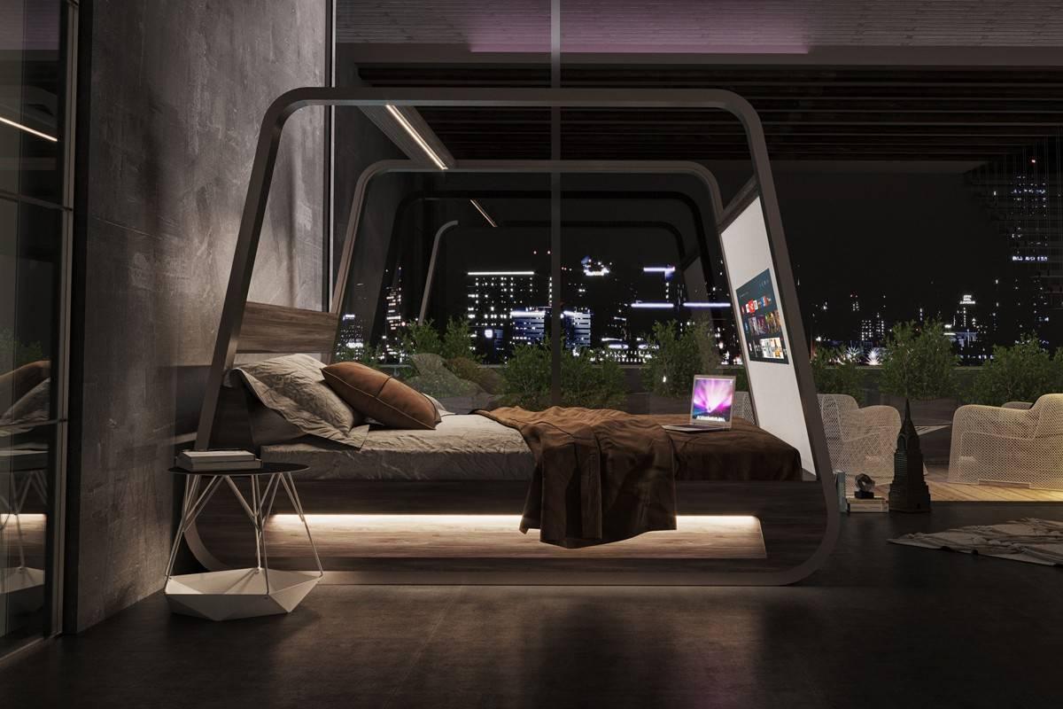 4K投影、70寸屏幕、生物识别,这是一张真正的智能床