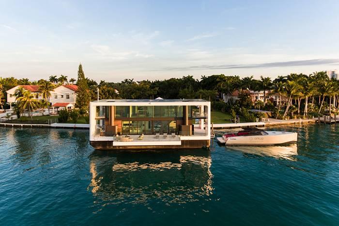 Arkup:一栋可以在海上自由漂浮的房屋