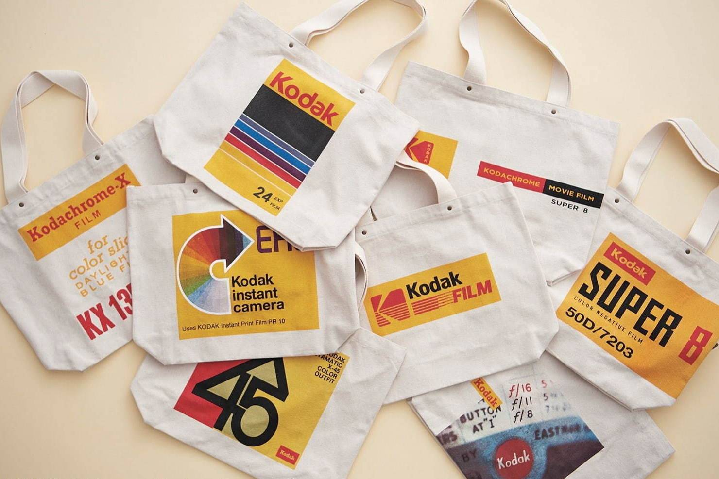 沉浸在柯达的复古影像世界,niko and… x KODAK发布合作手提袋