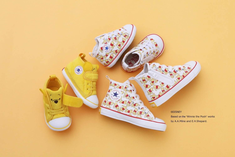 """童趣维尼,CONVERSE JAPAN推出""""Winnie the Pooh""""童鞋系列"""