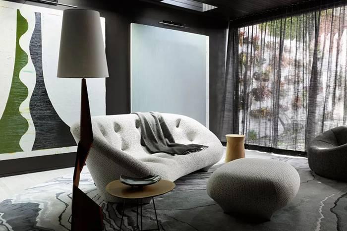 老式家具这么搭,丰富了空间的艺术感