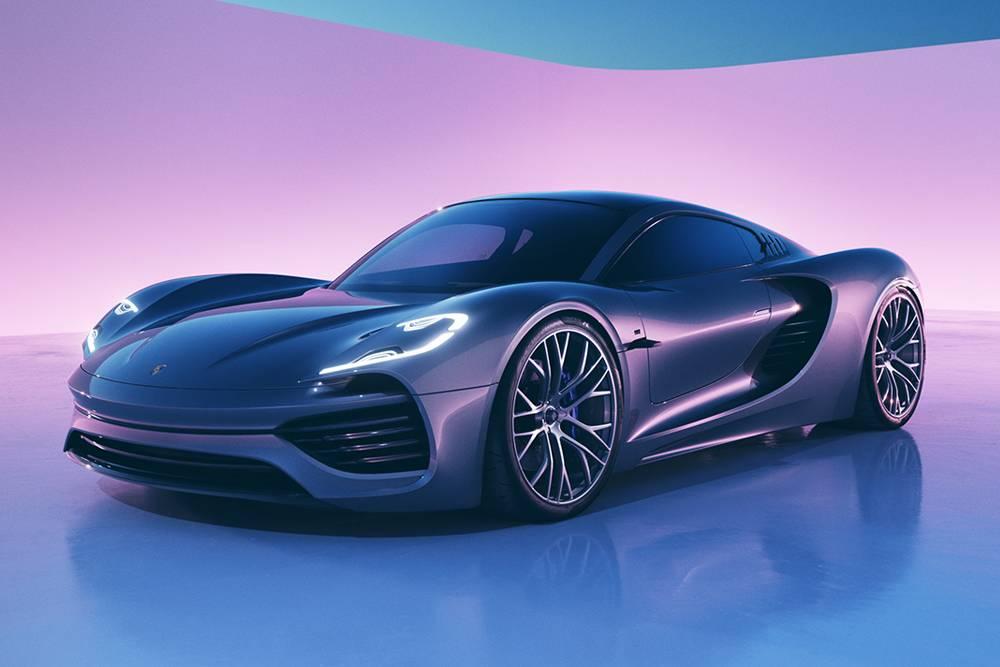 """优雅而凌厉,保时捷发布概念超跑""""Porsche 988 Vision"""""""