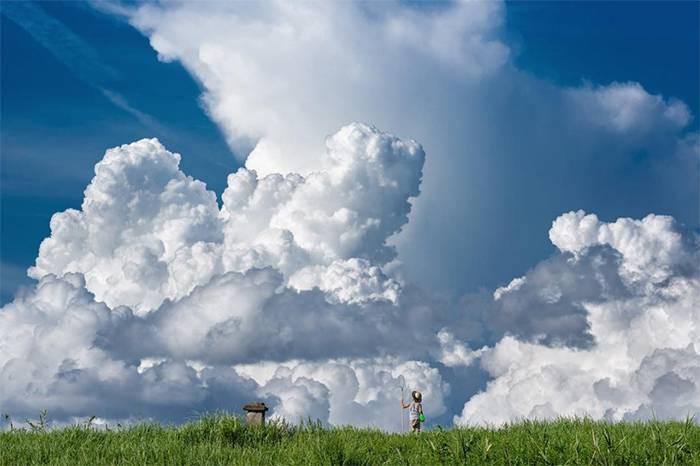 这位日本摄影师为儿子定格的梦幻童年, 每位孩子都有权利拥有