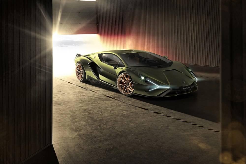 电气化之路第一步,兰博基尼亮相品牌首款混合动力汽车Sián