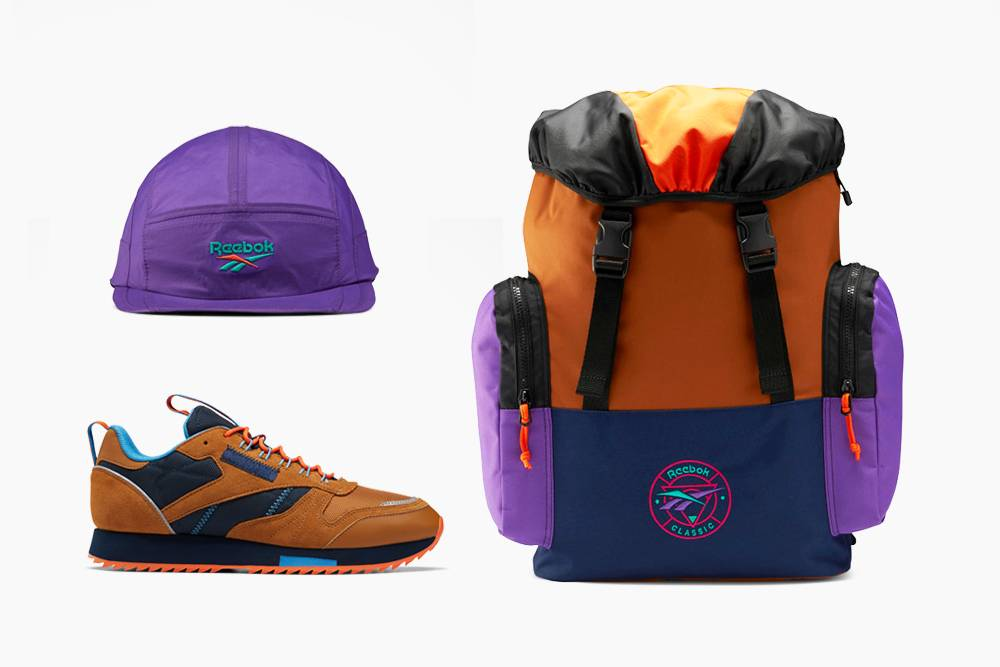 回溯品牌经典怀旧街头风格,Reebok推出Classic Trail Pack