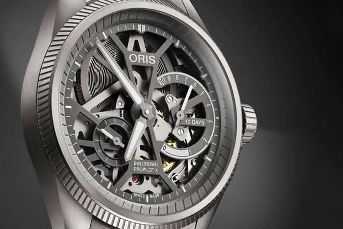 融合当代设计与先锋工艺的佳作,Oris推出全新腕表