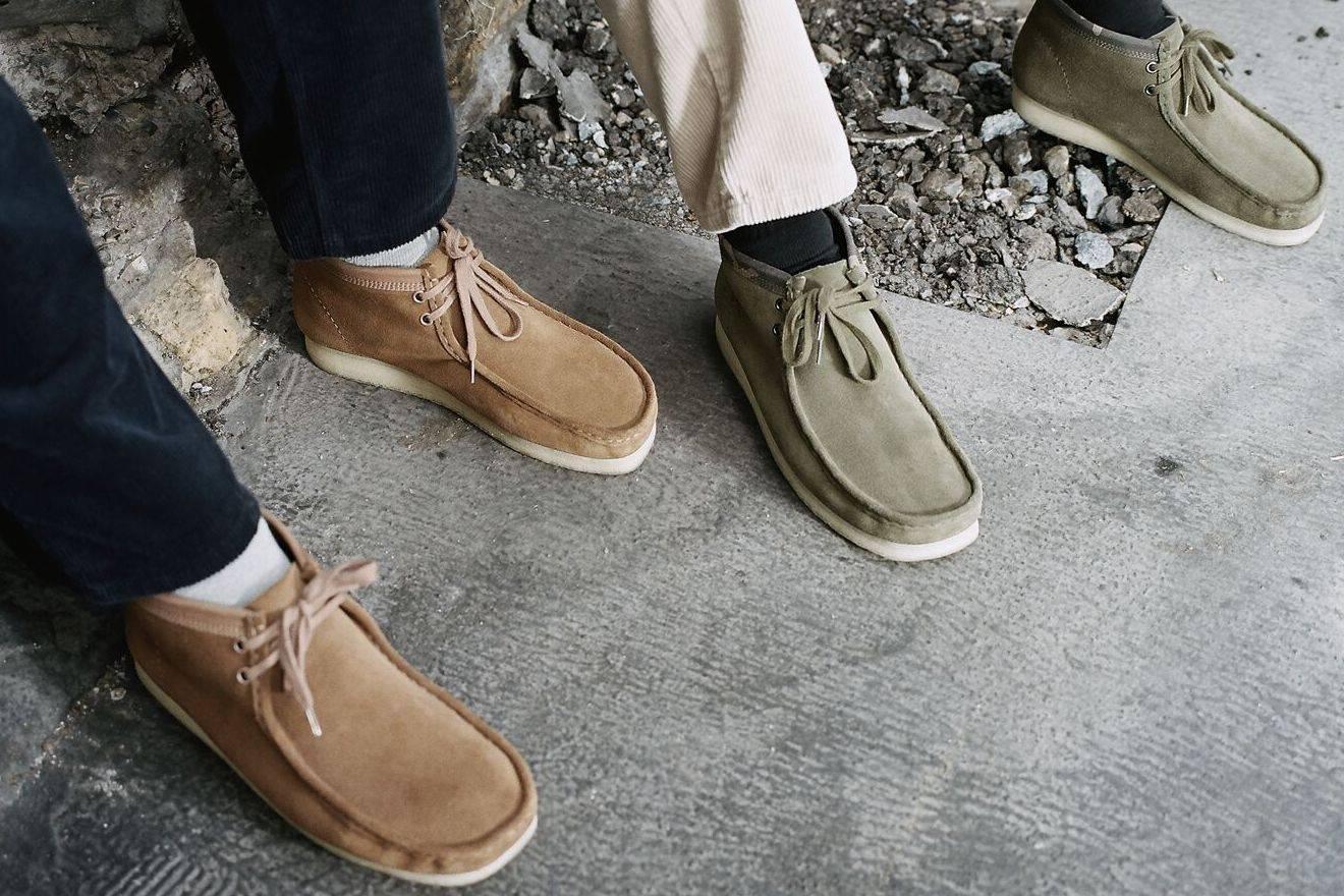 彰显顶尖质感,Clarks Originals x CARHARTT WIP合作款袋鼠靴