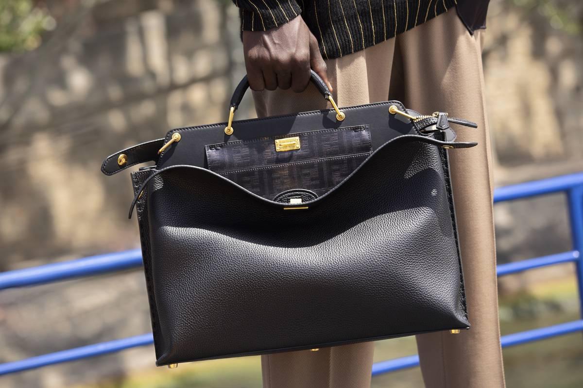 结合高功能性与奢华外观,FENDI发布全新男士手提包