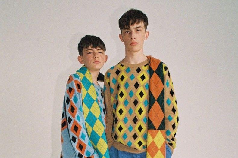"""歌颂80s传奇钻石菱格纹""""Argyle"""",Pringle of Scotland推出全新阵容"""