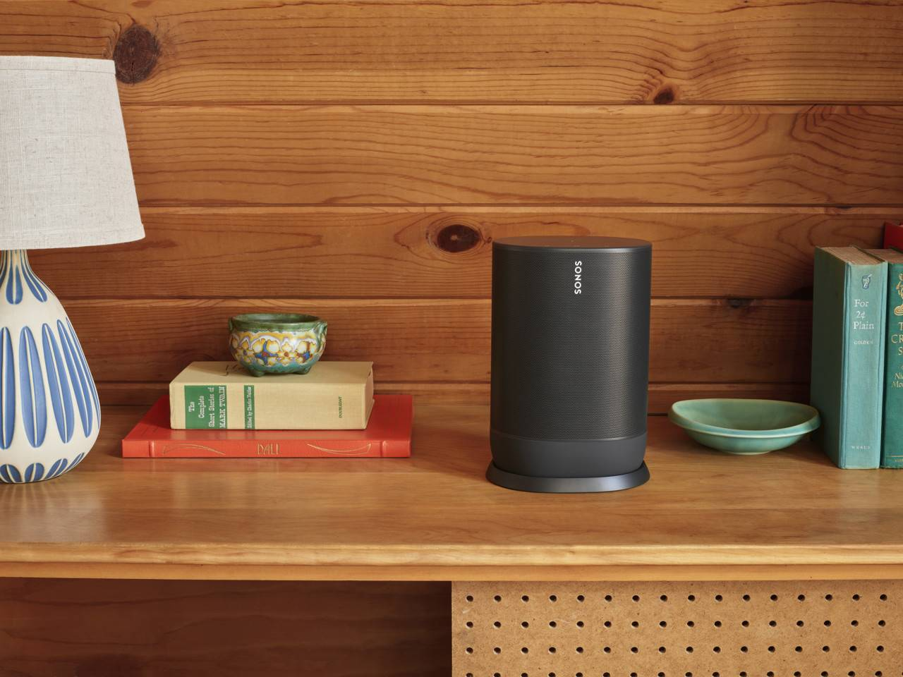 满足户外场景使用需求,Sonos发布全新便携式音箱Move
