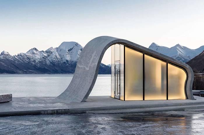 全球超高颜值的10个公厕,你会想每个都去打卡吗?