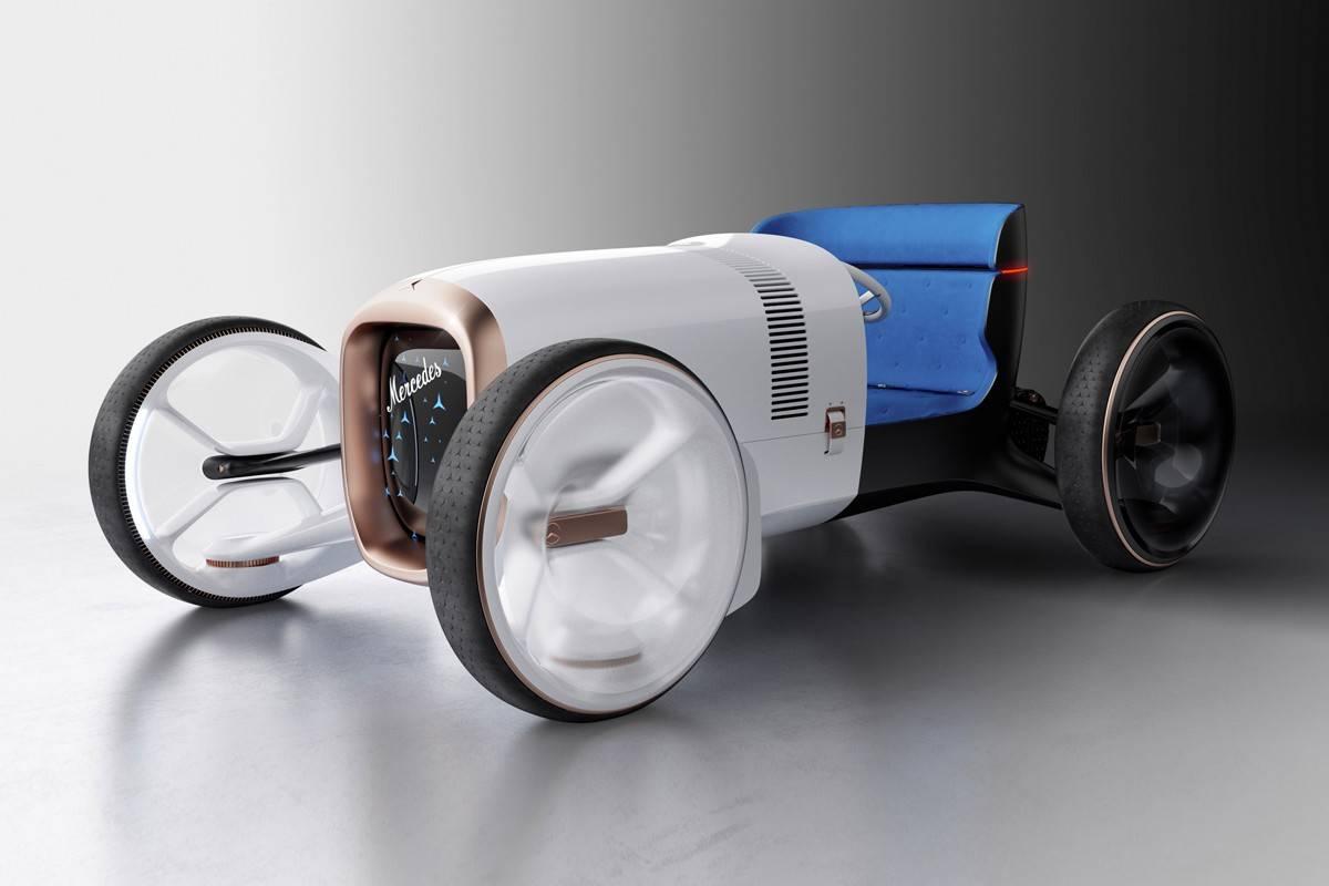 回到未来,Mercedes-Benz推出EV概念车Vision Mercedes Simplex
