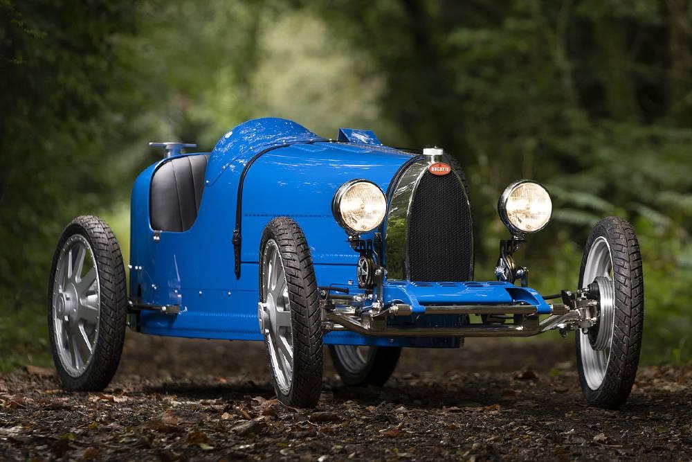 庆祝品牌诞辰110周年,BUGATTI复活旗下传奇儿童赛车