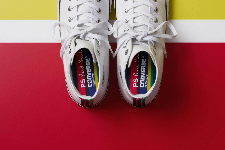 PS by Paul Smith x Converse,用多彩Sports Stripe点亮玩味氛围