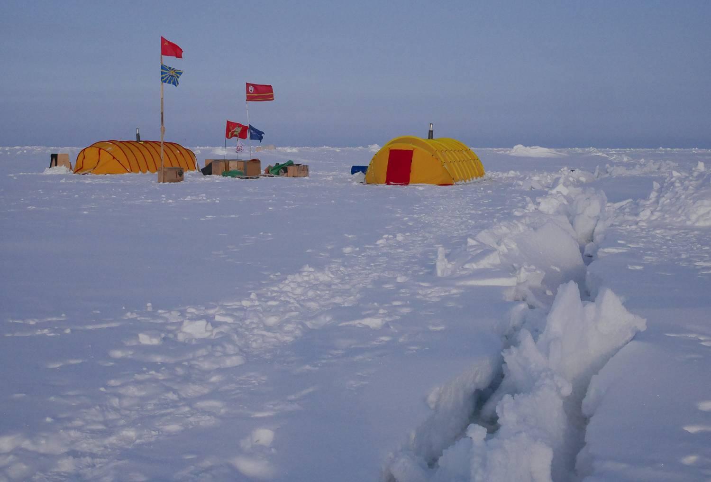 """在北极""""露营""""是什么感觉?"""