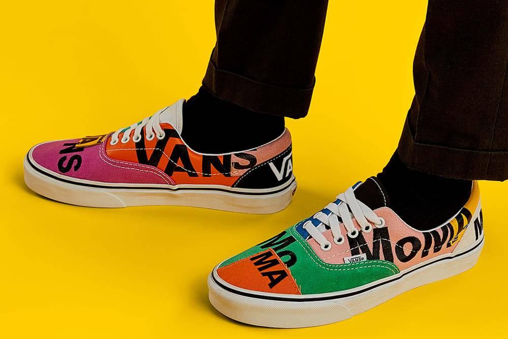 兼具艺术色彩与时代质感,MoMA x Vans亮相联名款Era