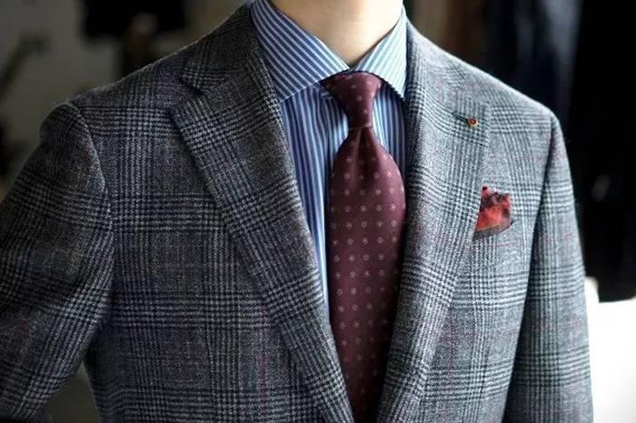 西装穿搭 | 领带如何搭配口袋巾?