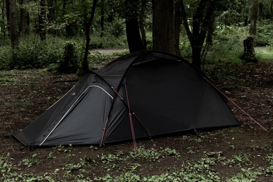 堪称世界级的精度,muraco x BRIEFING亮相合作款帐篷